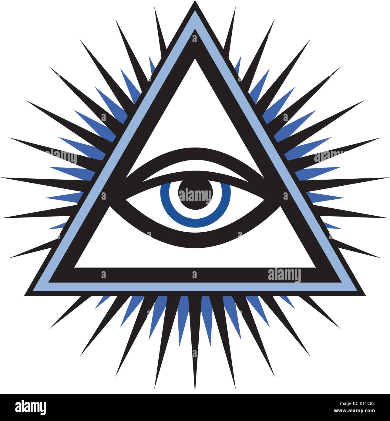 country of the one eye god The eye of god, also known as the eye of providence, is an equilateral triangle with a single eye inside it, usually with rays emanating from it.
