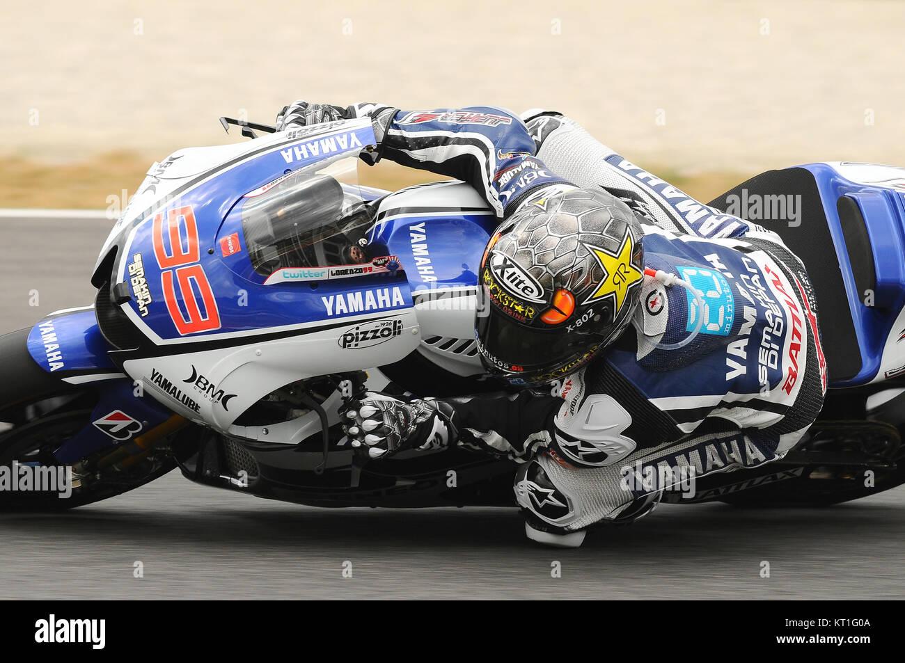 Jorge Lorenzo Yamaha Stock Photos & Jorge Lorenzo Yamaha Stock Images - Alamy