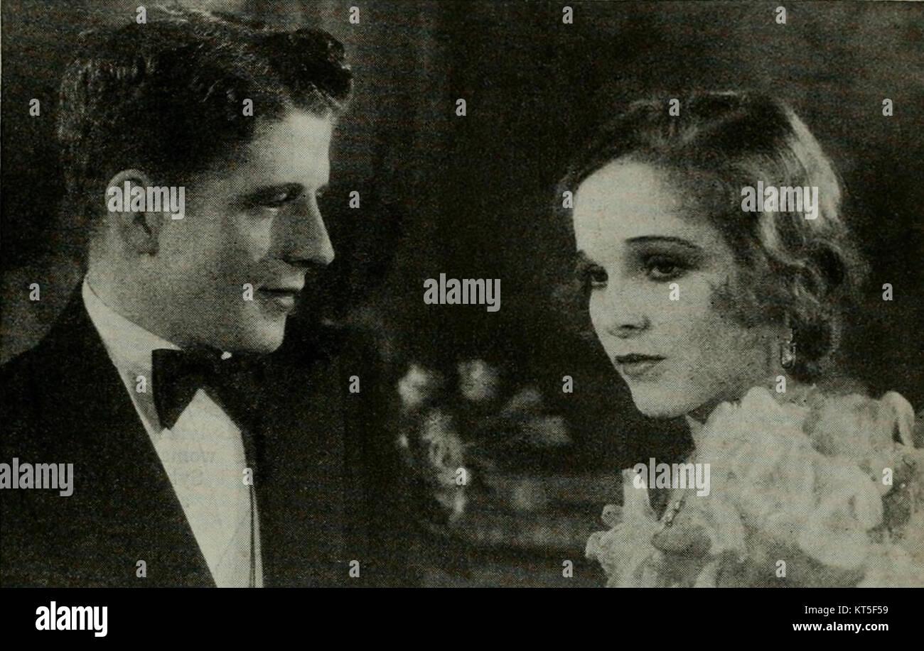 Rudy VallC3A9e & Sally Blane - Photoplay, June 1930 - Stock Image