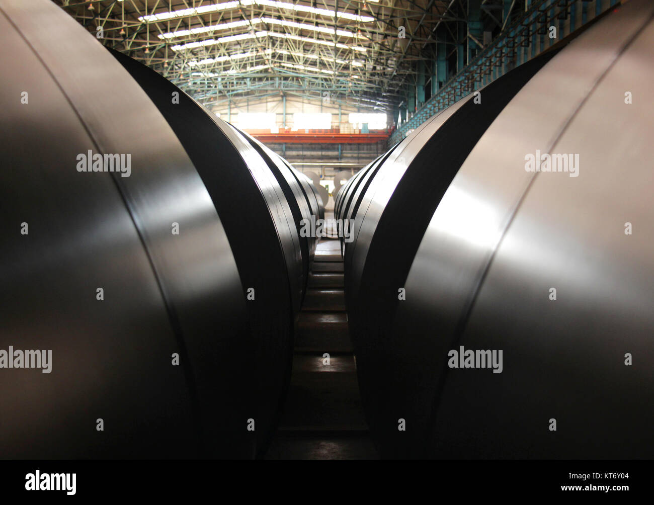 Industrial mill - Stock Image