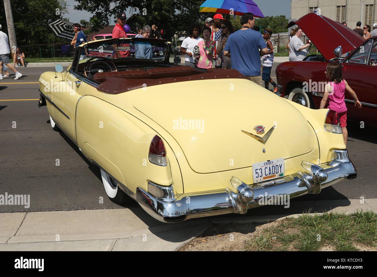 Convertible car 1950s stock photos convertible car 1950s for Mercedes benz of centerville washington township oh