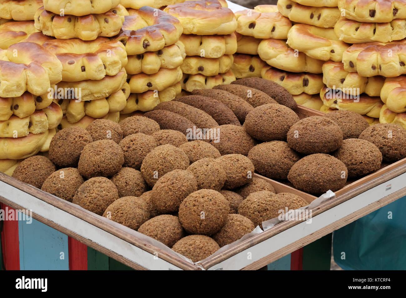 Falafel Jerusalem Stock Photos & Falafel Jerusalem Stock ...