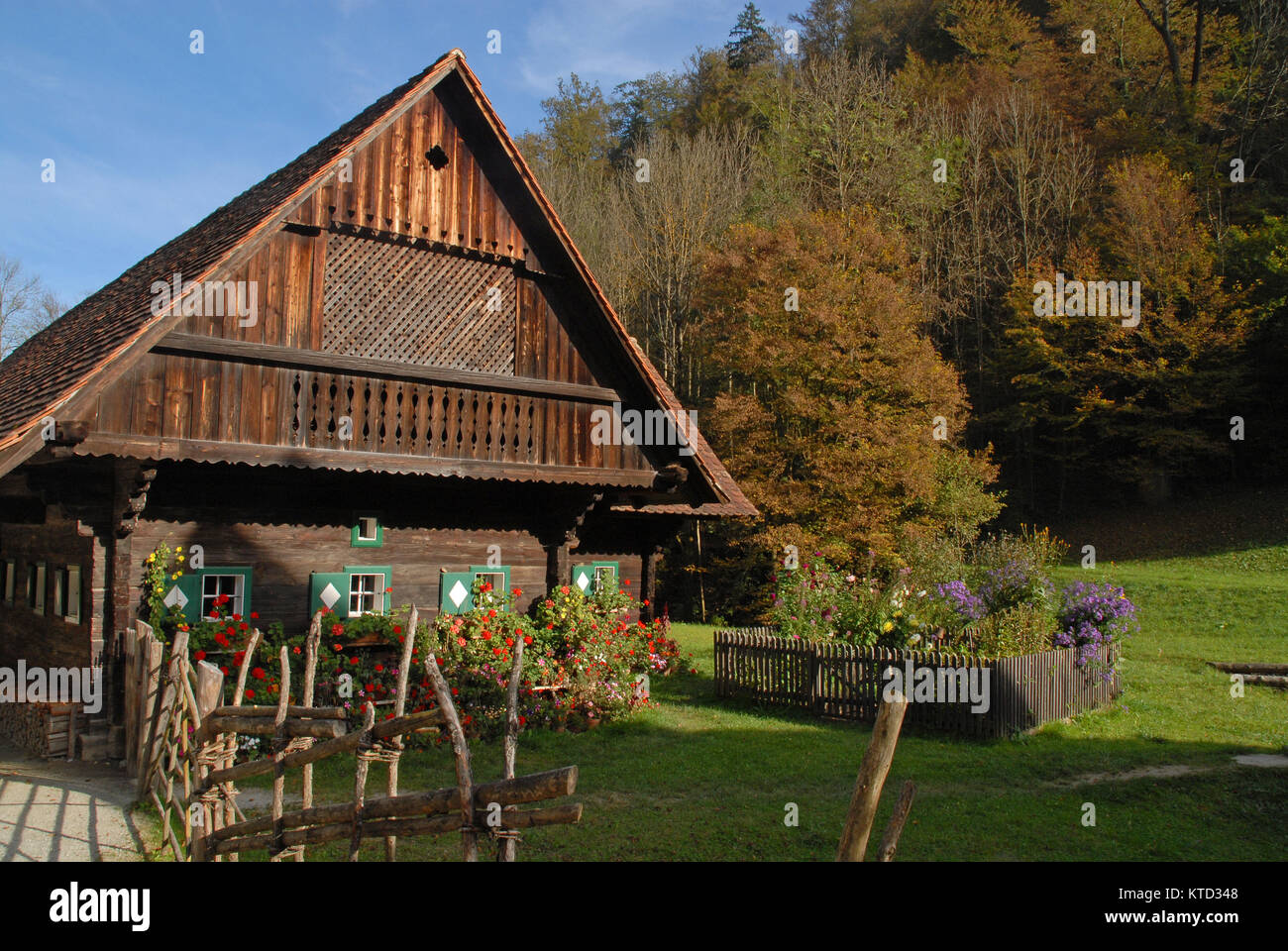 Traditional austrian house stock photos traditional for Old traditional houses