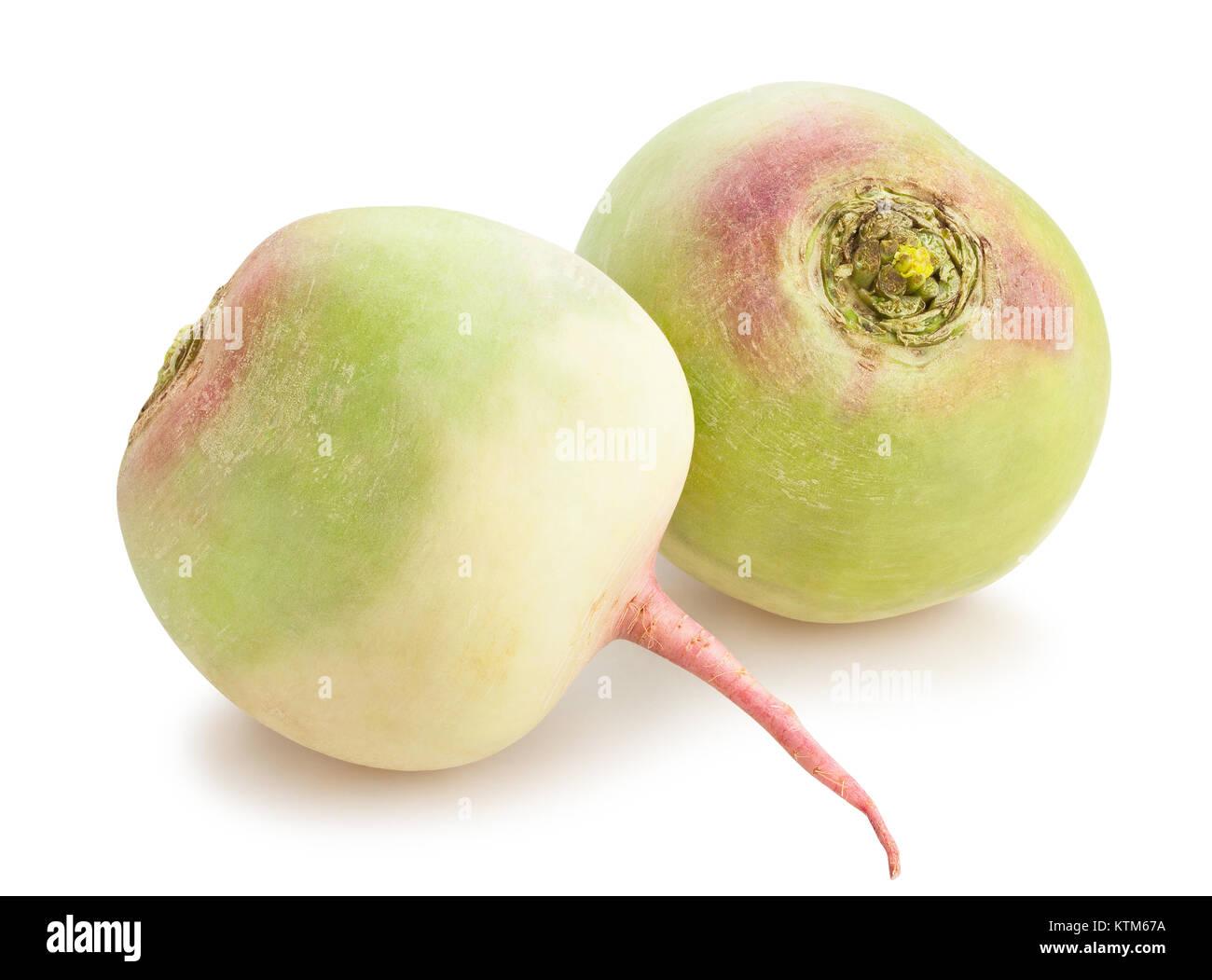 turnip path isolated - Stock Image