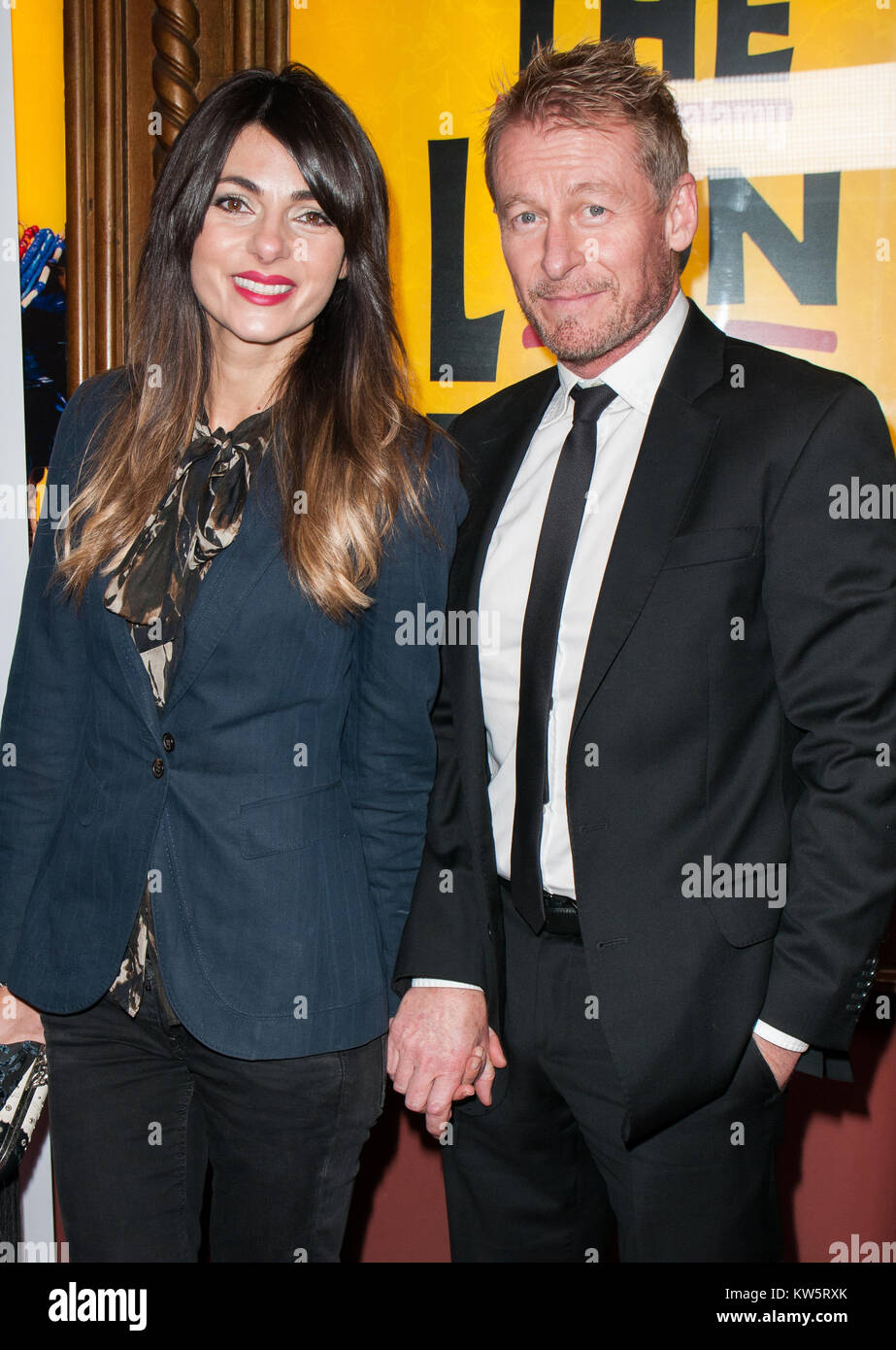SYDNEY, AUSTRALIA - AUGUST 18: Richard Roxburgh arrives at the 2014 Helpmann Awards at the Capitol Theatre on August - Stock Image