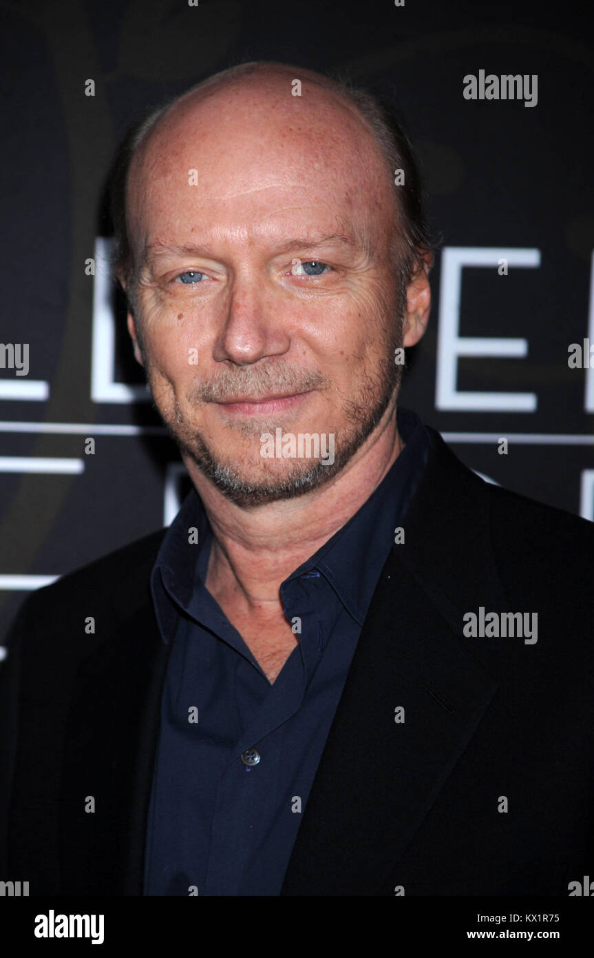 NEW YORK, NY - MARCH 21: Paul Haggis attends the 'Mildred Pierce' premiere at the Ziegfeld Theatre on March - Stock Image