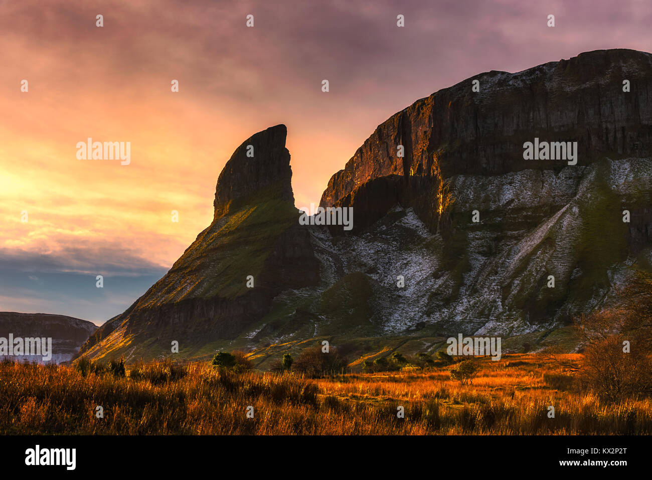 Eagle's Rock in County Leitrim - Ireland - Stock Image