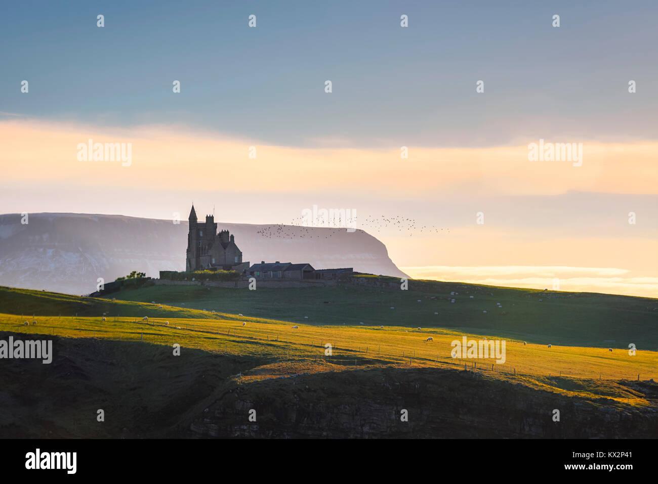 Classiebawn Castle in Sligo - Ireland - Stock Image