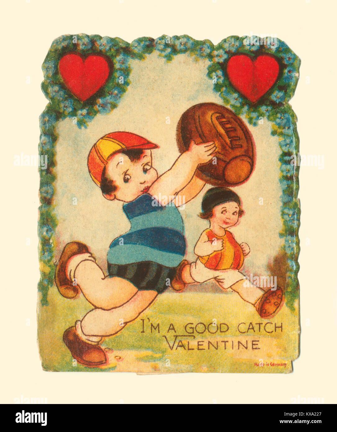 I'm A Good Catch Valentine - Stock Image