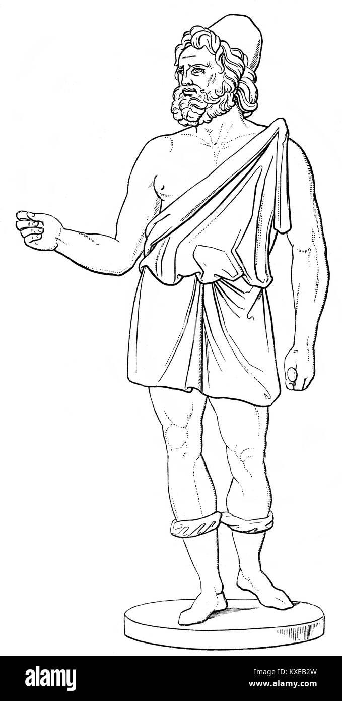 Hephaestus Statue Stock Photos Amp Hephaestus Statue Stock