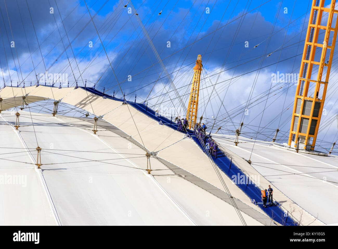 Up At The O2 Stock Photos Amp Up At The O2 Stock Images Alamy