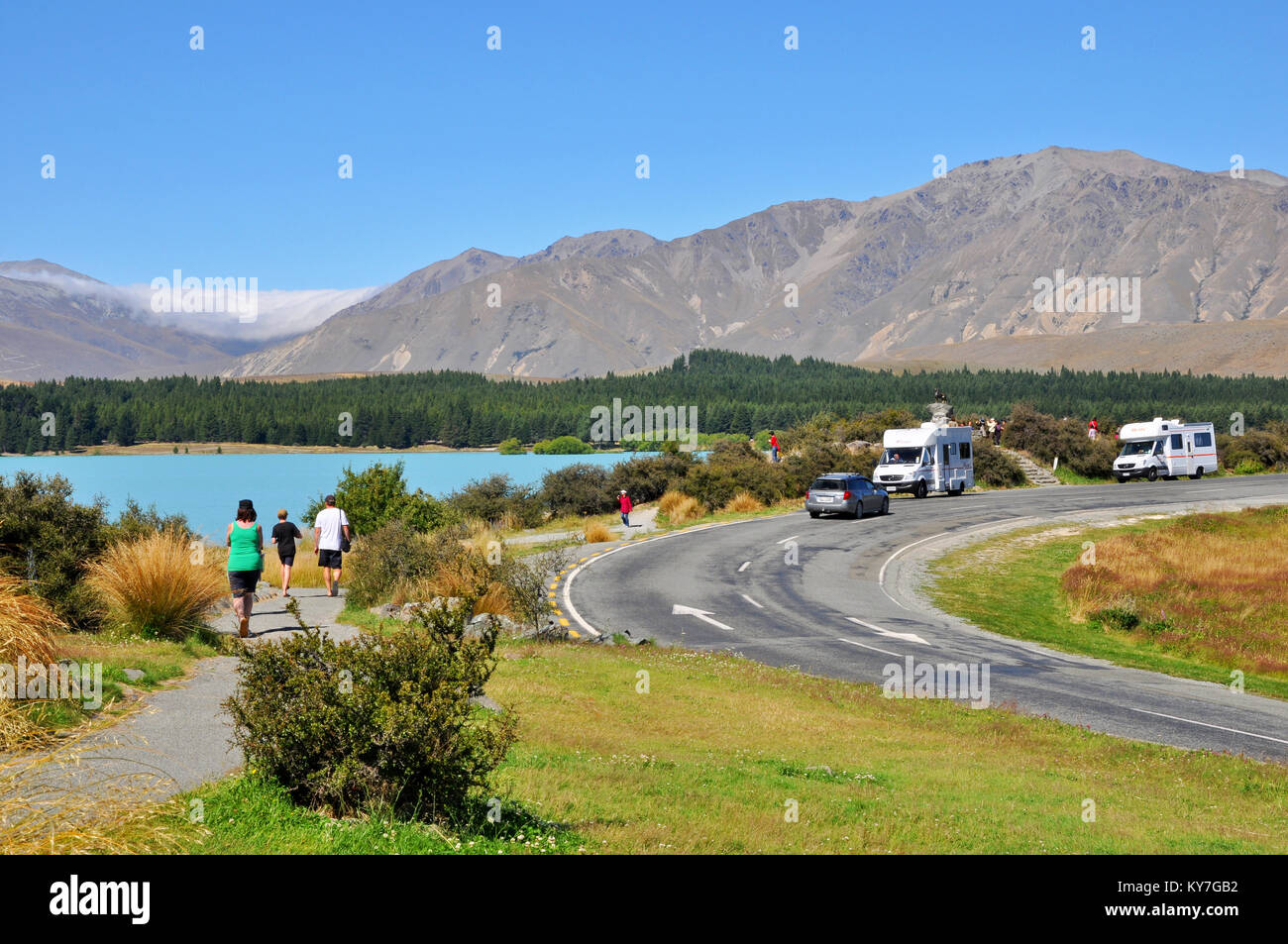 Campervan Tour Of South Island New Zealand
