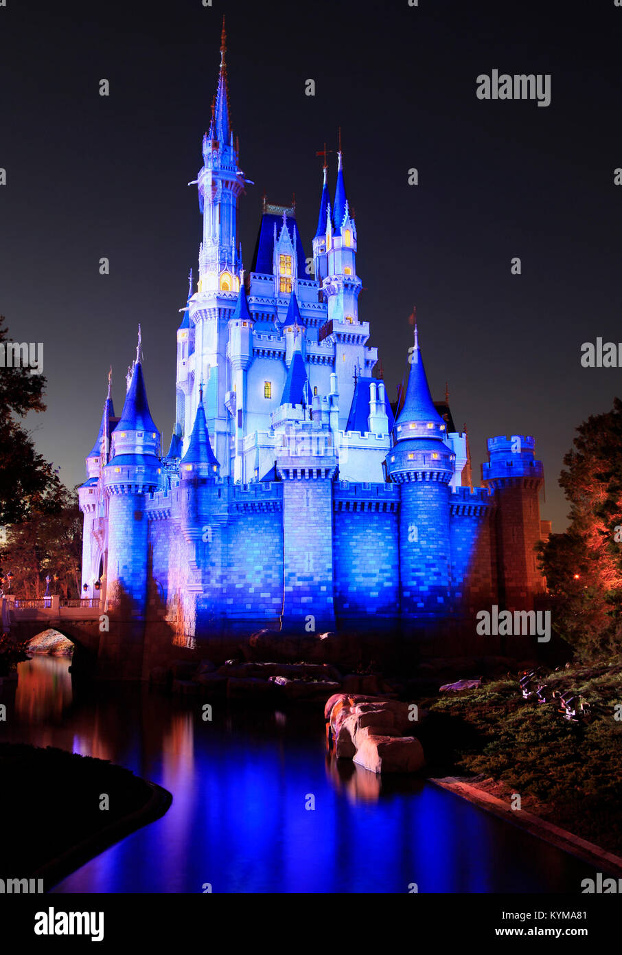 Cinderella Castle Florida Stock Photos Cinderella Castle