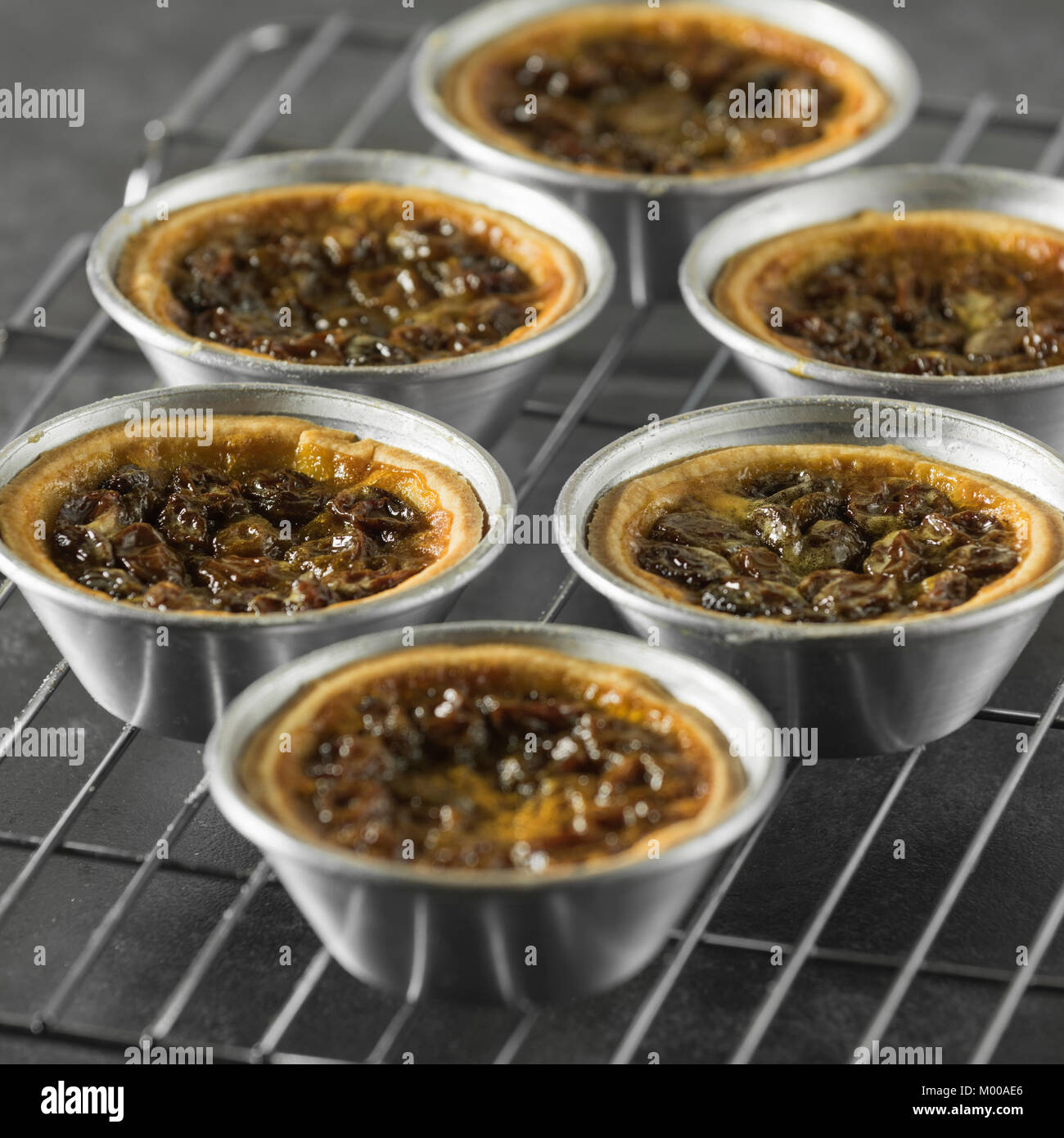 Canadian butter tarts. Canada Food - Stock Image