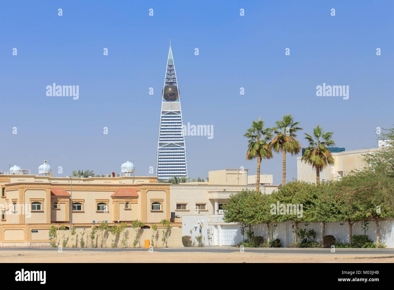 Cityscape of Riyadh in Saudi Arabia - Stock Image