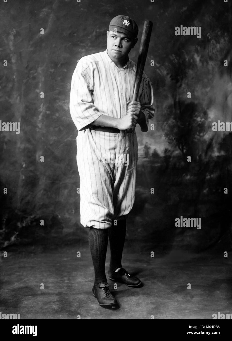 a history and biography of george herman ruth an american baseball player Greatest nine- or ten-week stretch of play in baseball history ruth was the second-fastest player on the 3 george herman ruth, babe ruth's own.