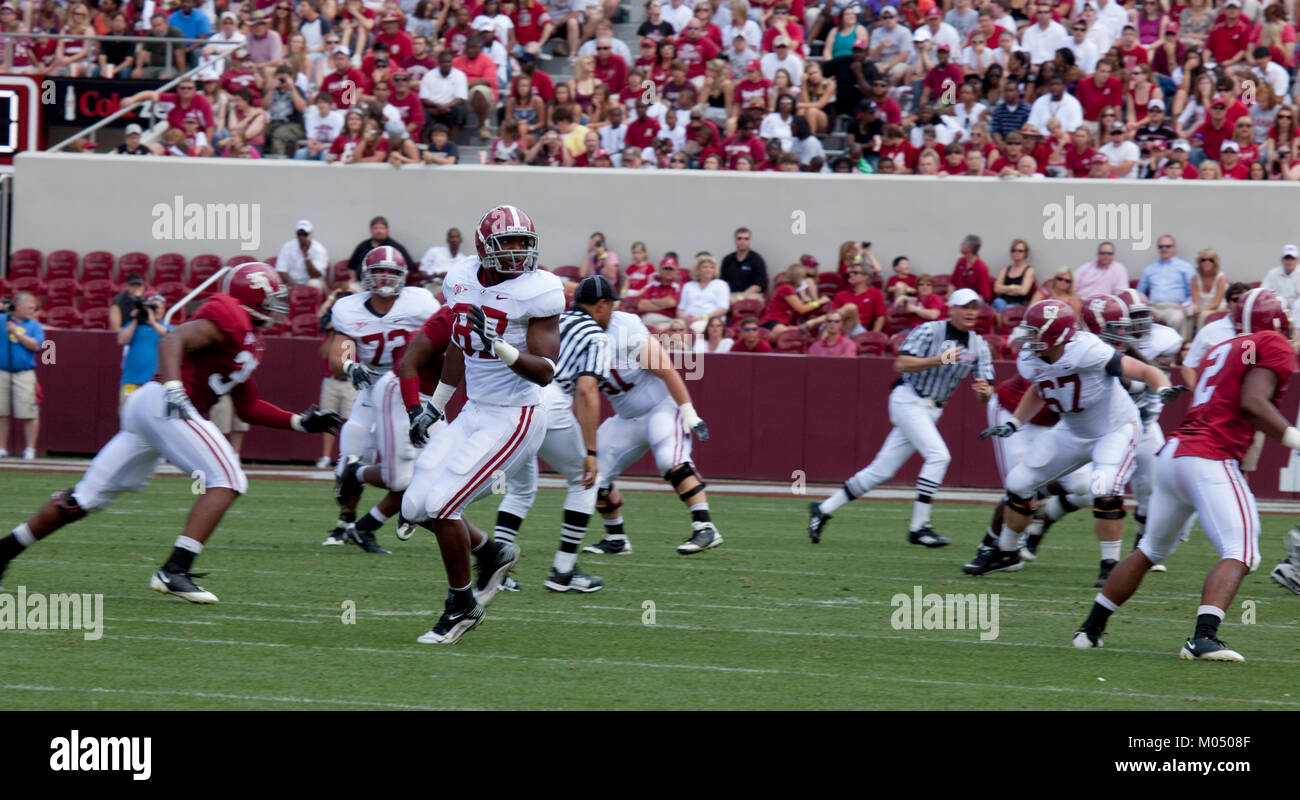 University of Alabama football game, Tuscaloosa, Alabama - Stock Image