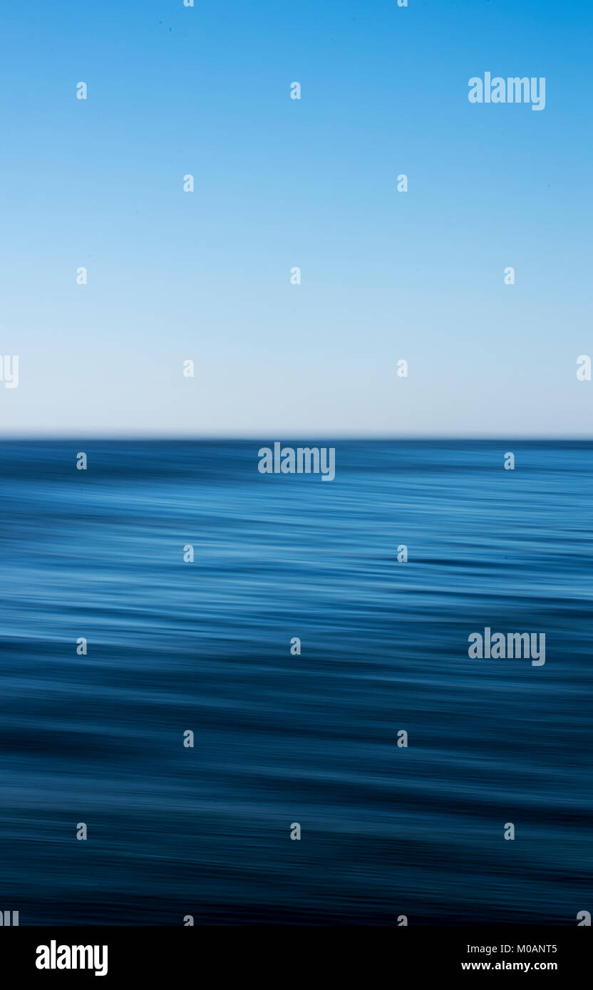 Abstract of sea and sky - Stock Image