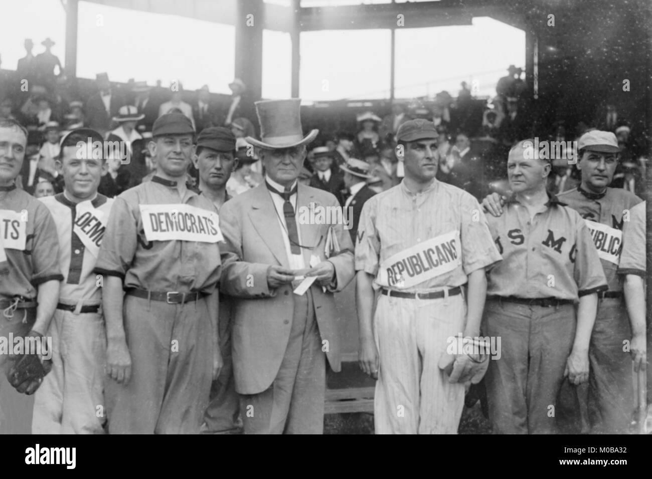 Washington Stadium host ballgame between Republicans & Democrats - Stock Image