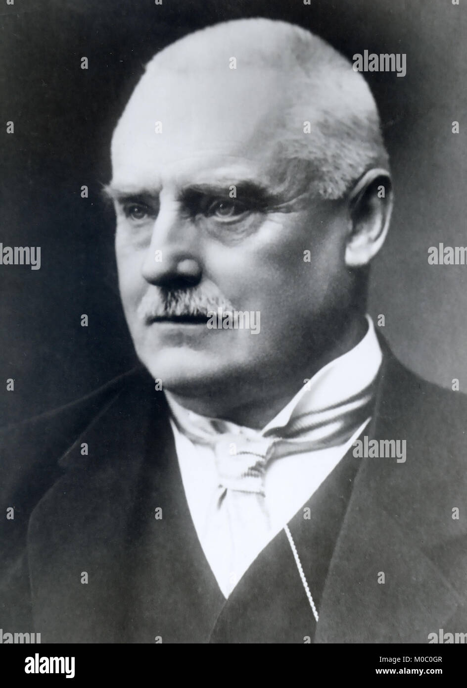 WOLLERT KONOW (1845-1924) On his appointment as 4th prime mInister of Norway in 1910 - Stock Image