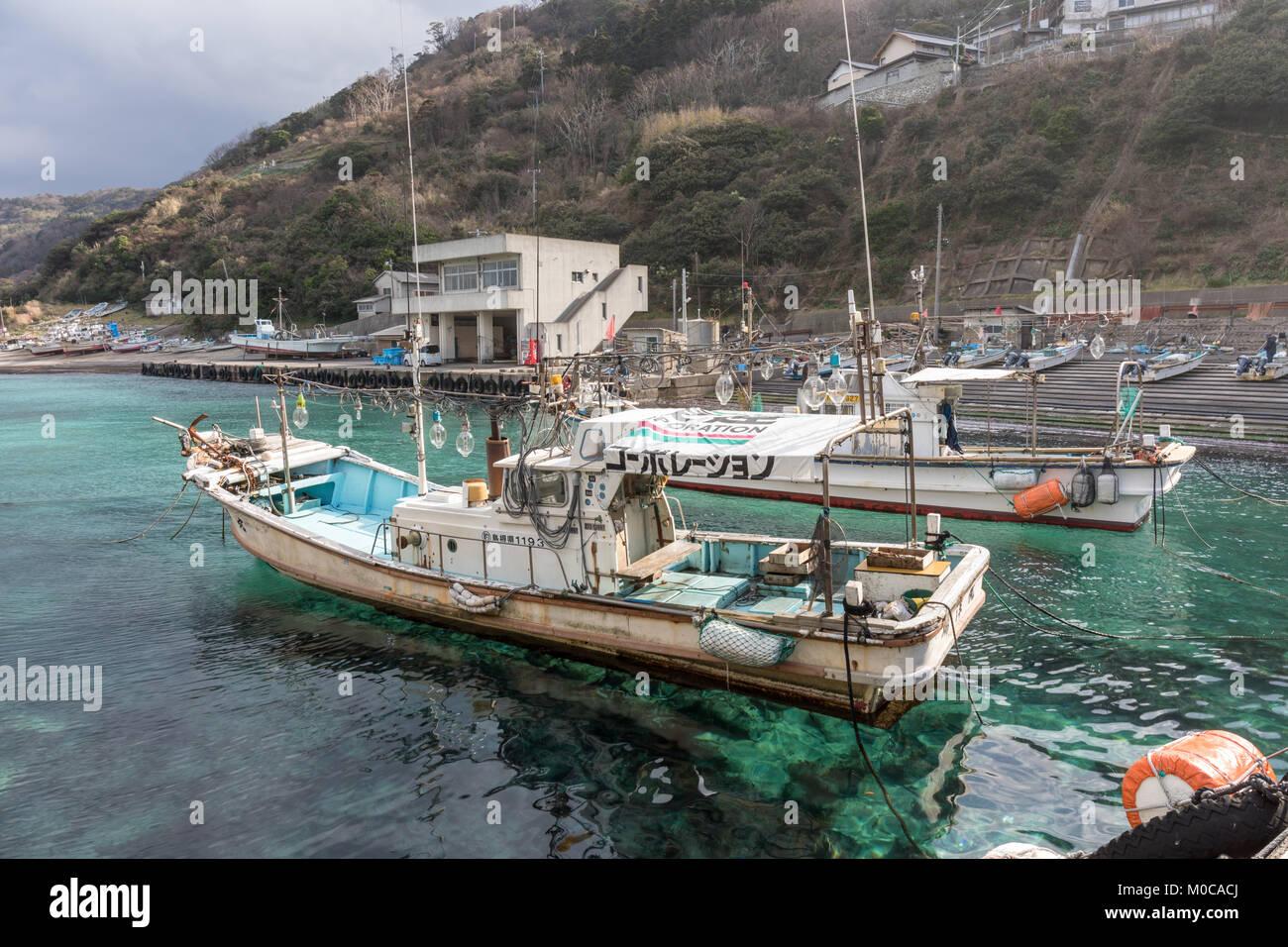 Japanese fishing stock photos japanese fishing stock for Japanese fishing boat