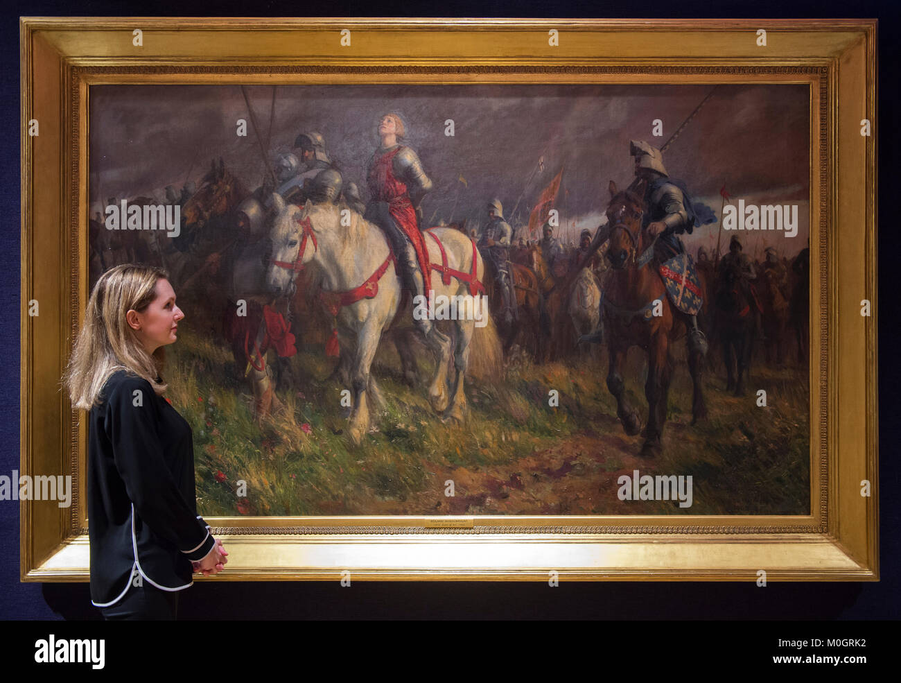"an analysis of the painting joan of arc by jules bastien lepage in 19th century Joan of arc essay in the metropolitan museum of art in new york city the painting ""joan of arc"" by jules bastien-lepage hangs in the b gerald cantor sculpture gallery."