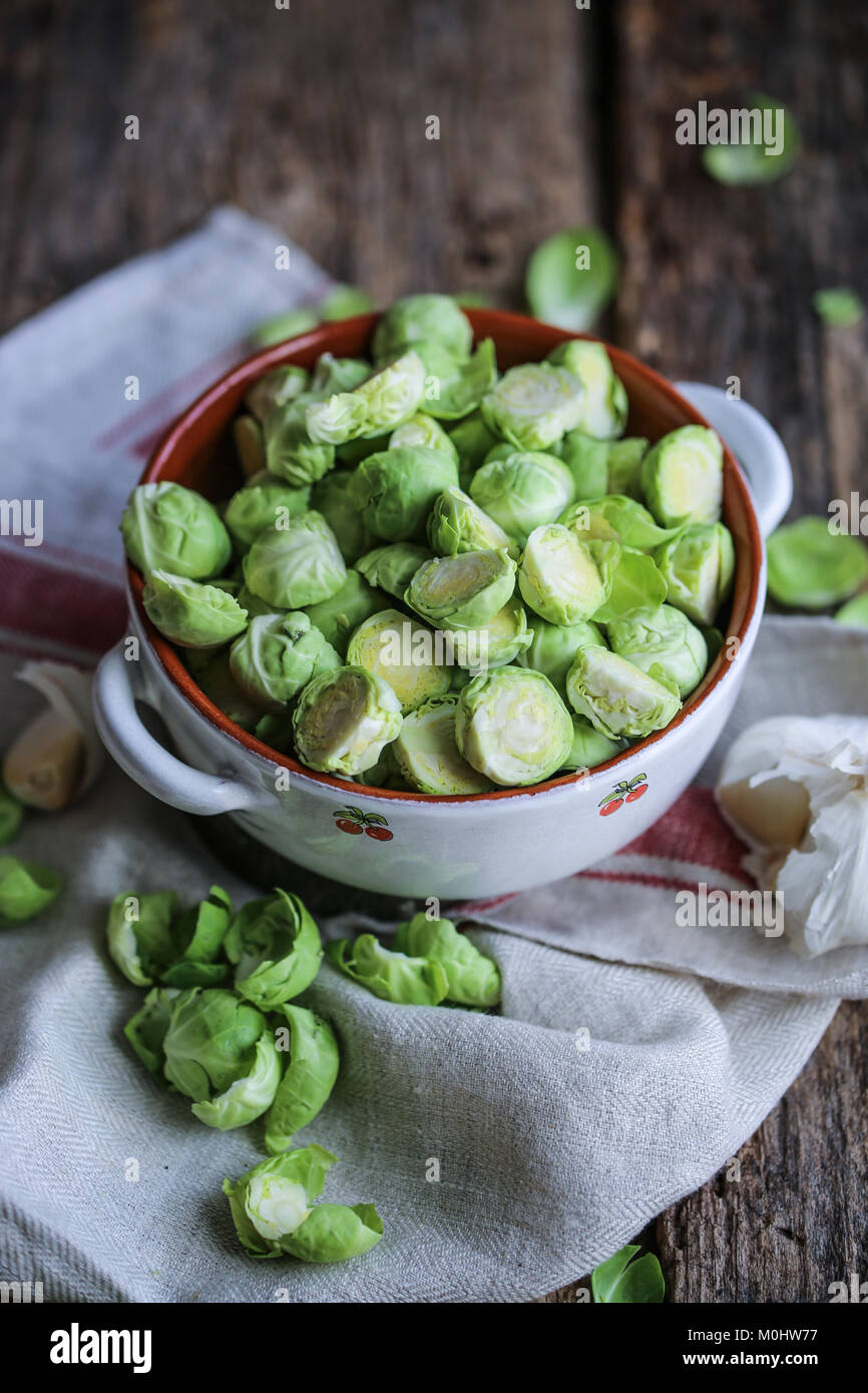 Brussel sprouts - Stock Image