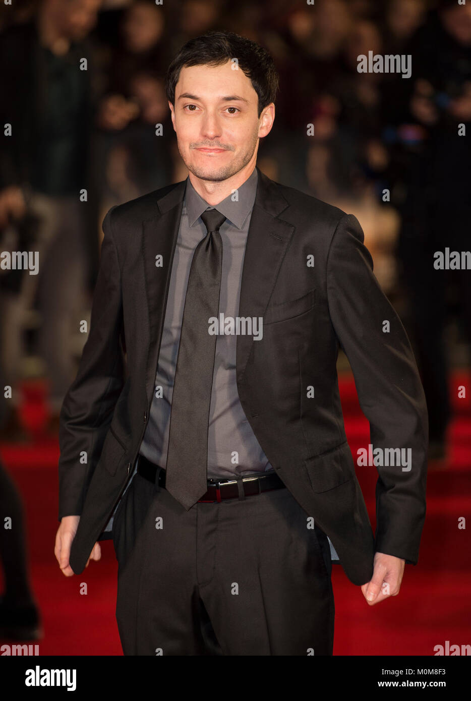 London, UK. 22nd Jan, 2018. Wes Ball attends the 'Maze Runner: The Death Cure' film premiere, London, UK - Stock Image
