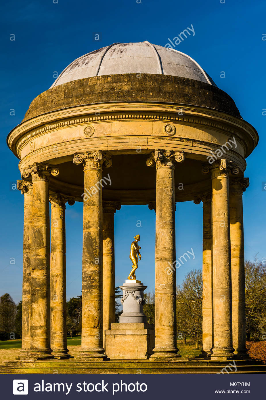 Rotunda at Stowe Landscape Gardens, Buckinghamshire, UK - Stock Image