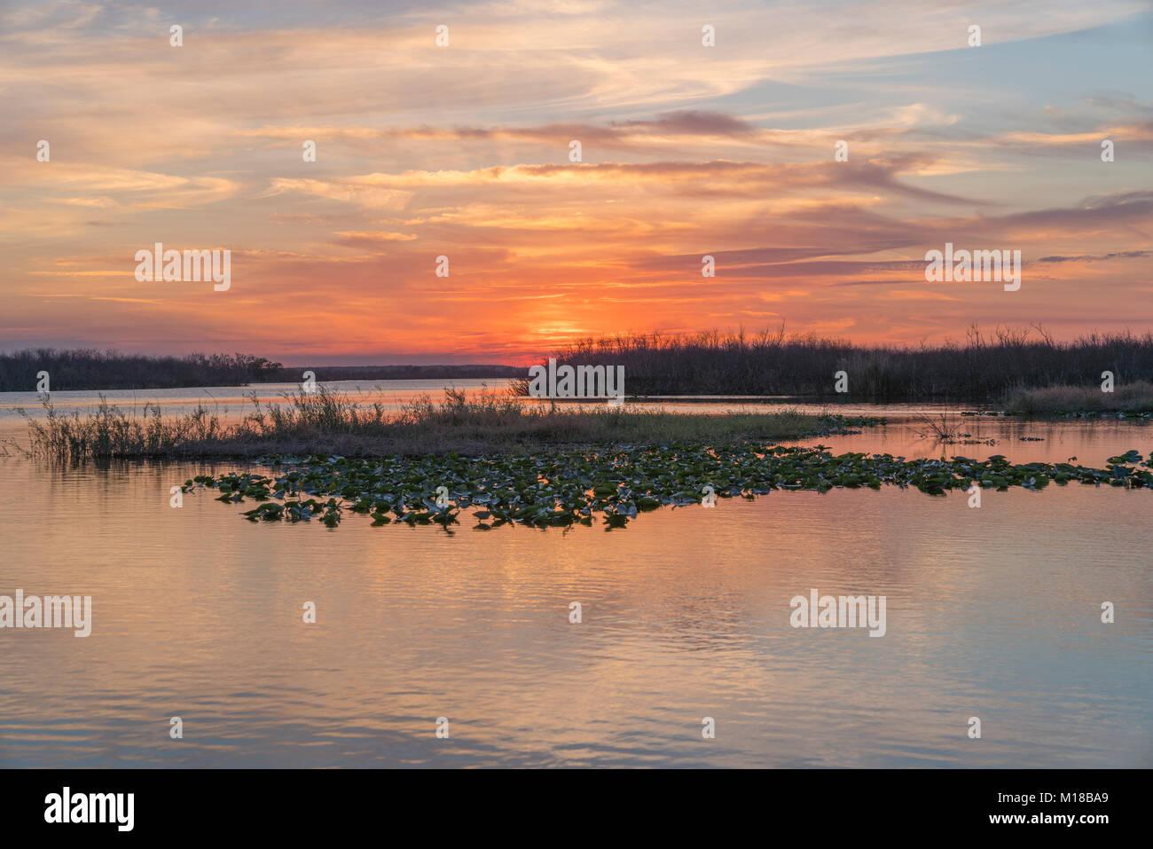 Sunrise melbourne stock photos sunrise melbourne stock for St johns river fish camps