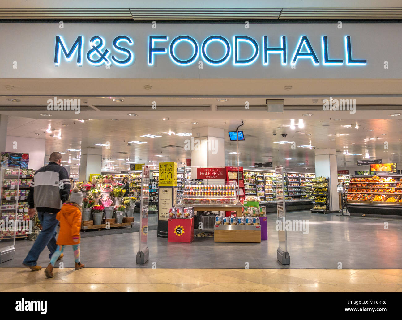Marks And Spencer Food Stores London