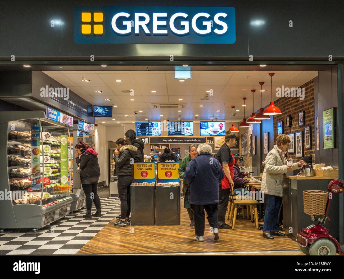 Greggs Coffee Stock Photos & Greggs Coffee Stock Images ...