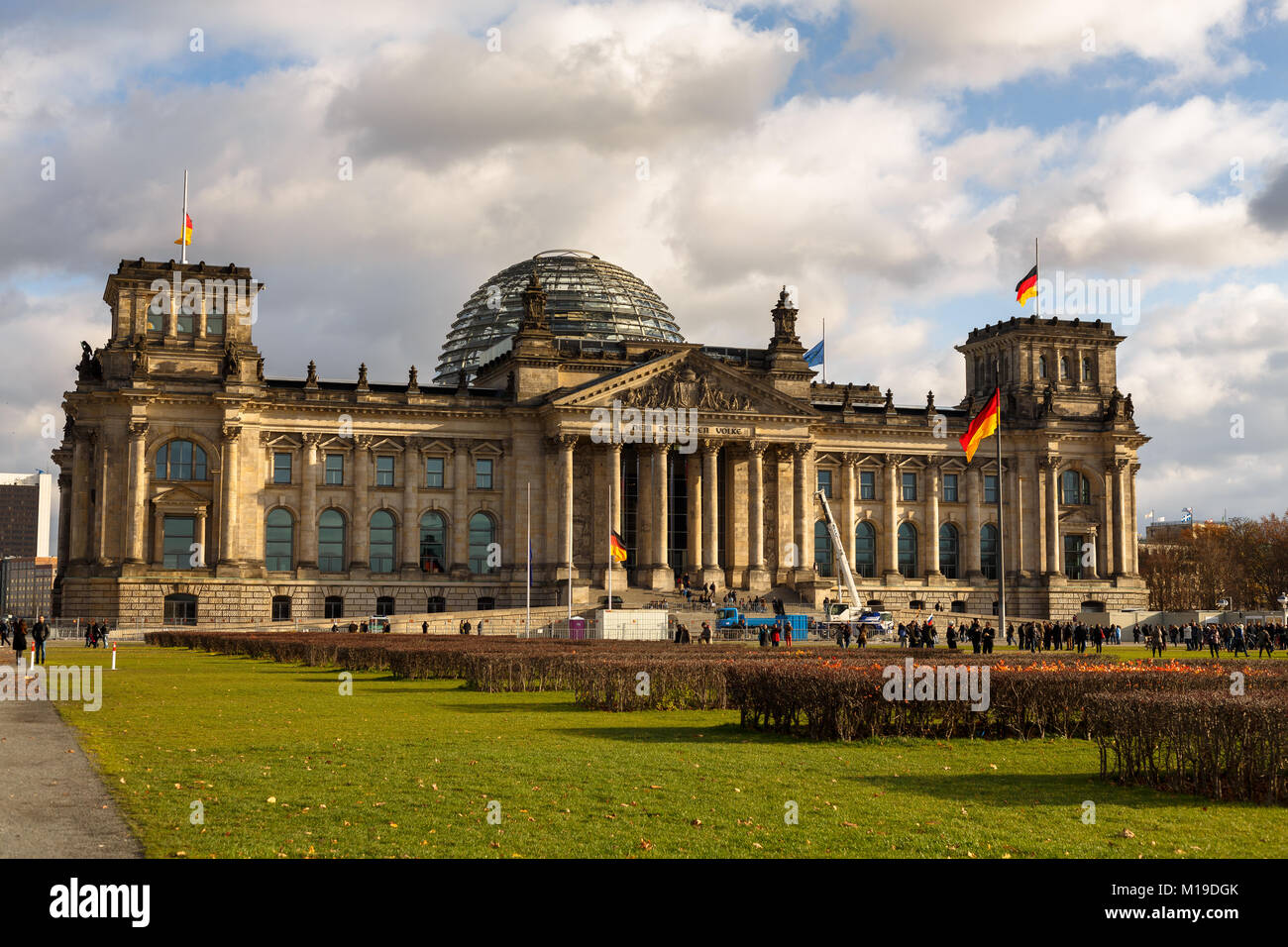 Reichstag Building, Berlin - Stock Image