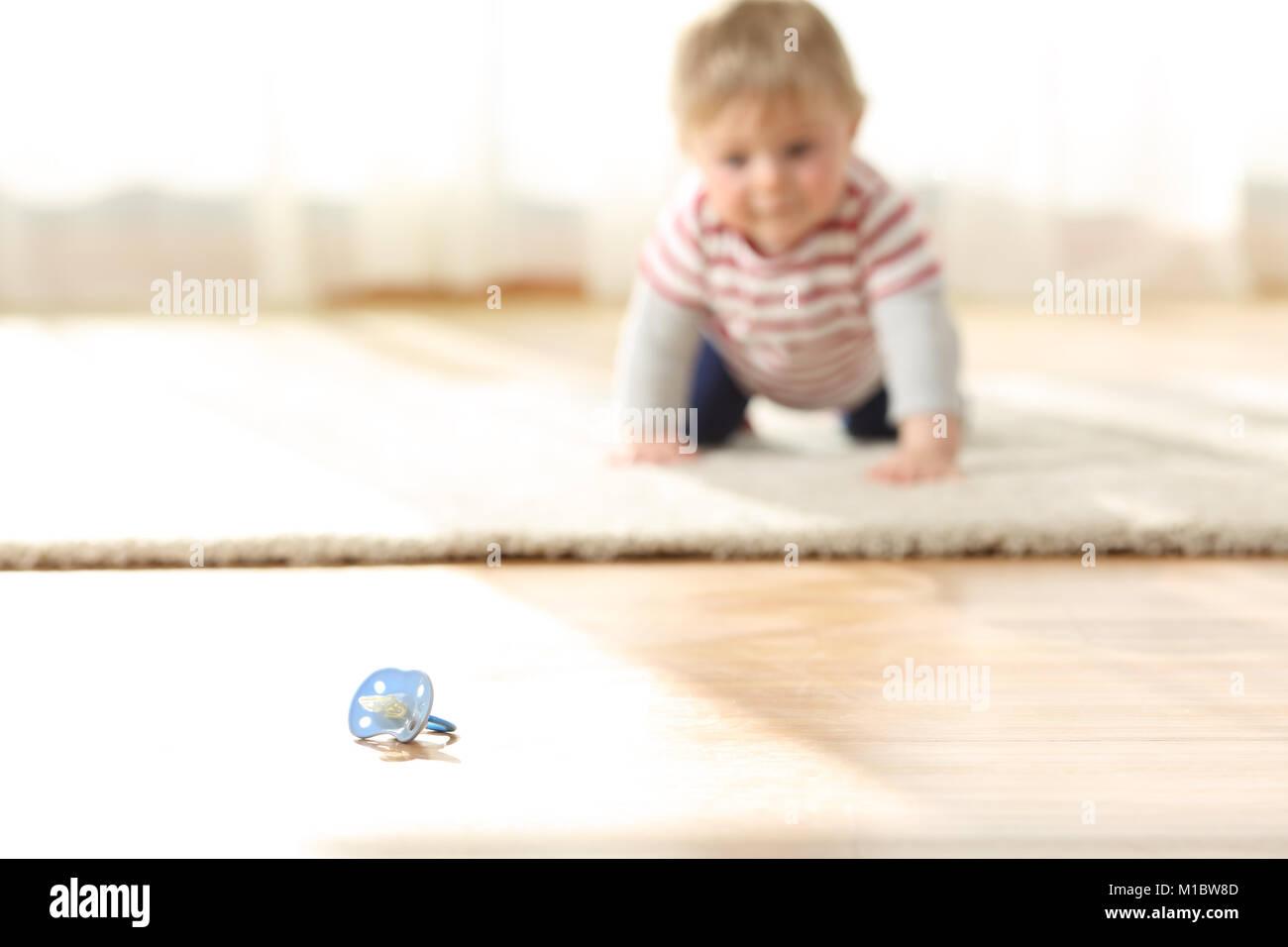 Toddler Boy Child Reaching Dangerous Stock Photos