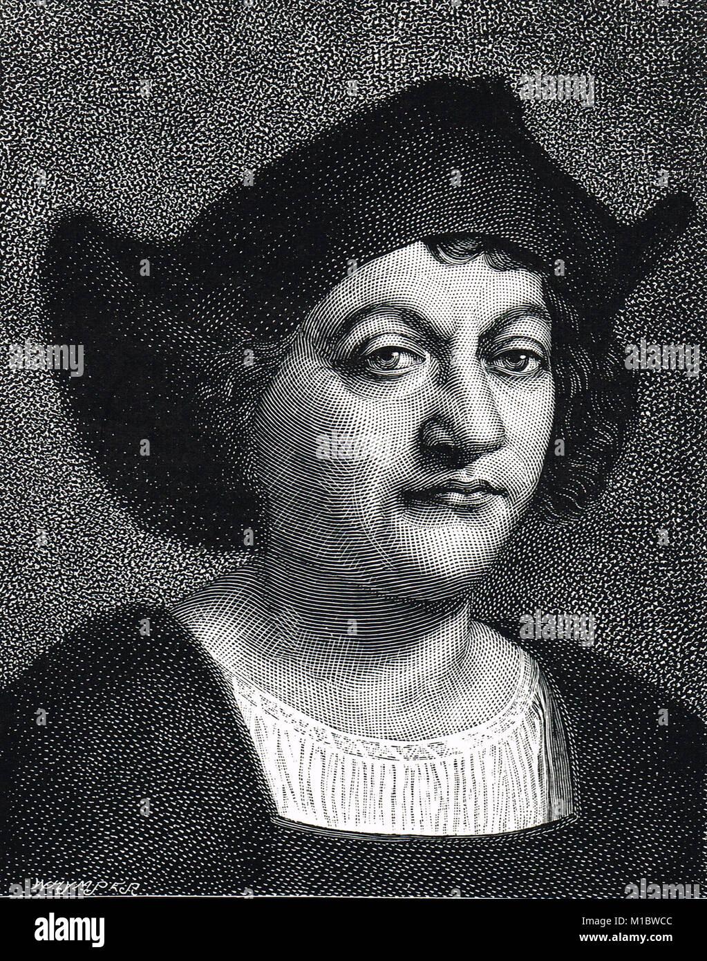 Christopher Columbus, 1451-1506 - Stock Image