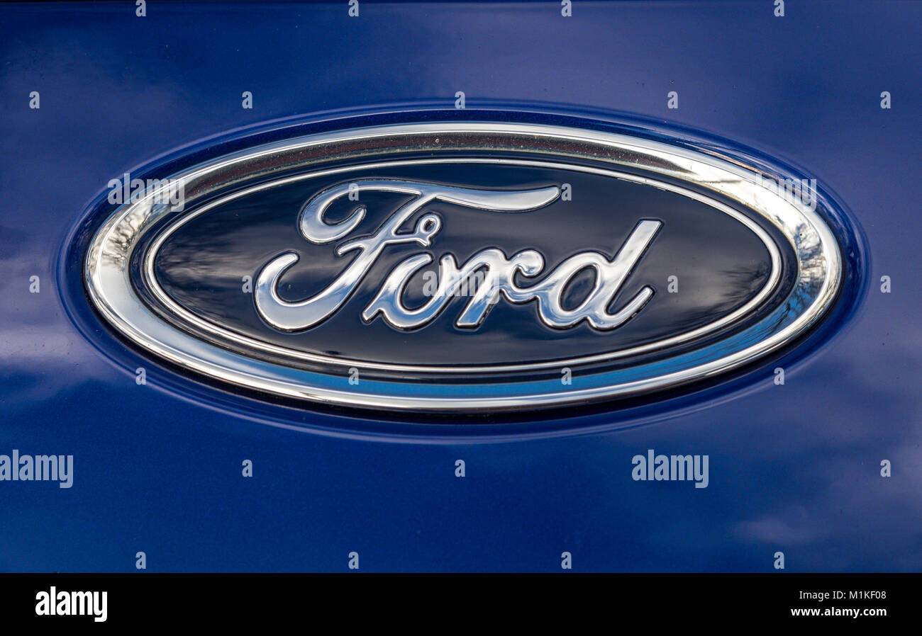 American car manufacturer stock photos american car for Stock quote ford motor company