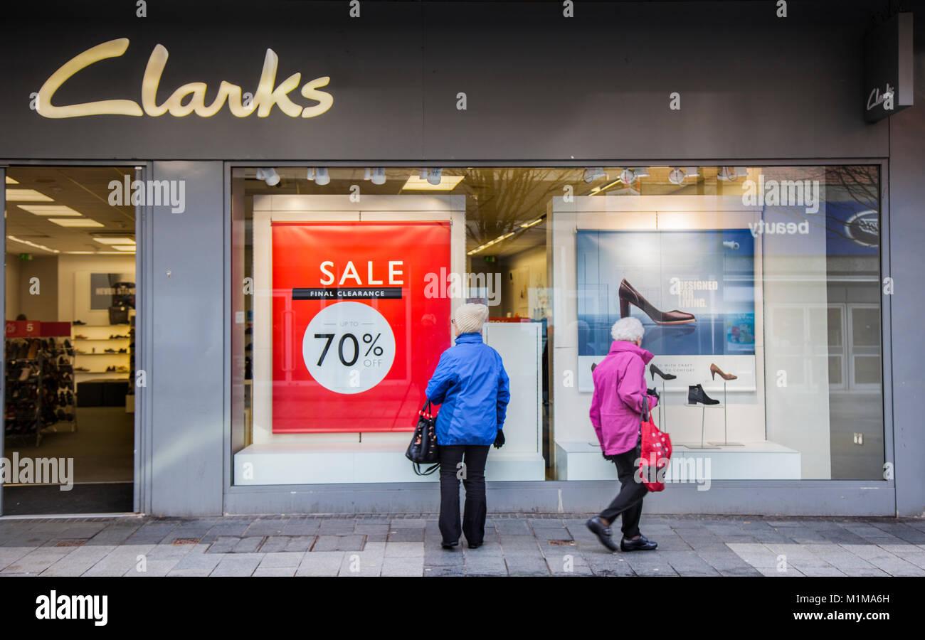Clarks Shoe Stores Sydney
