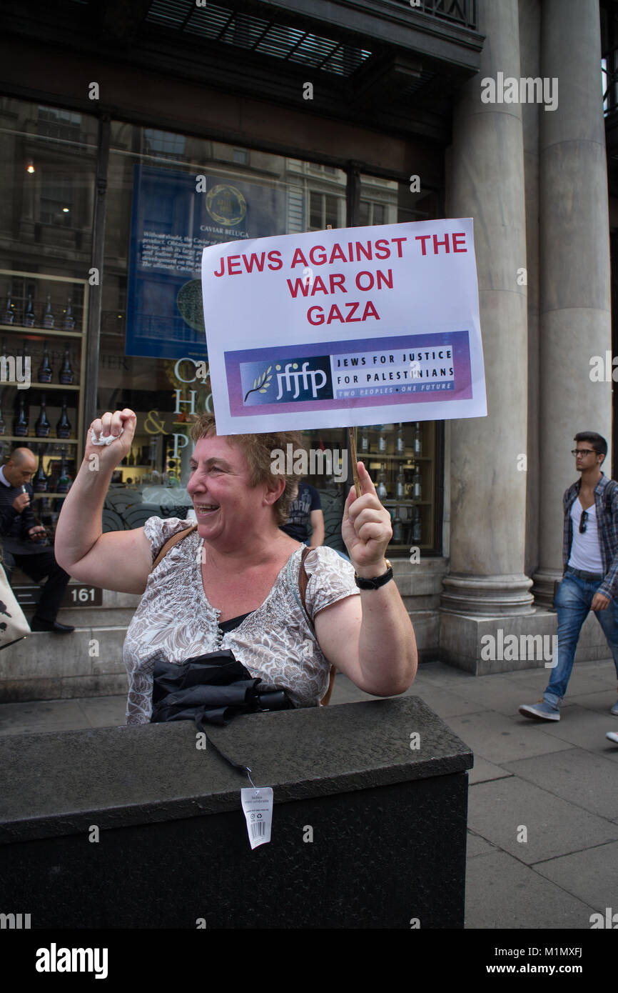 Jews against the War - Stock Image