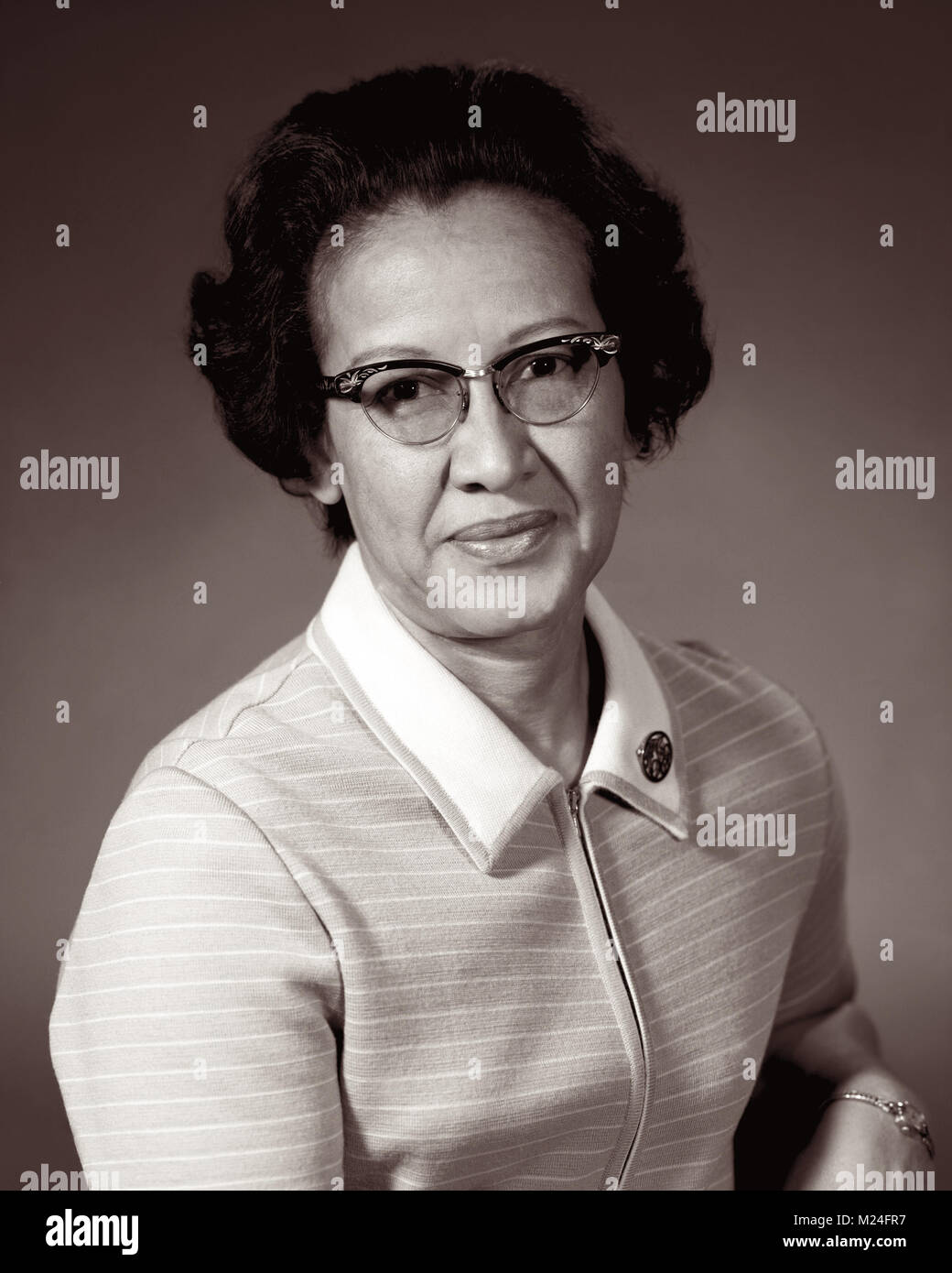 Katherine Johnson, one of NASA's 'human computers' featured in the movie Hidden Figures, is a mathematician - Stock Image