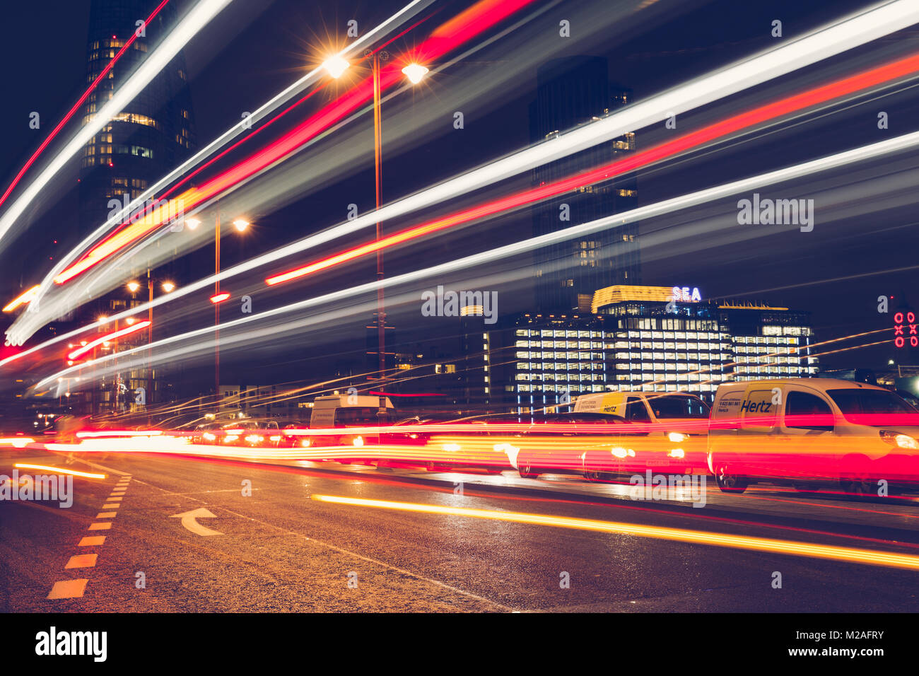 Red Car Moving Fast Stock Photos Amp Red Car Moving Fast