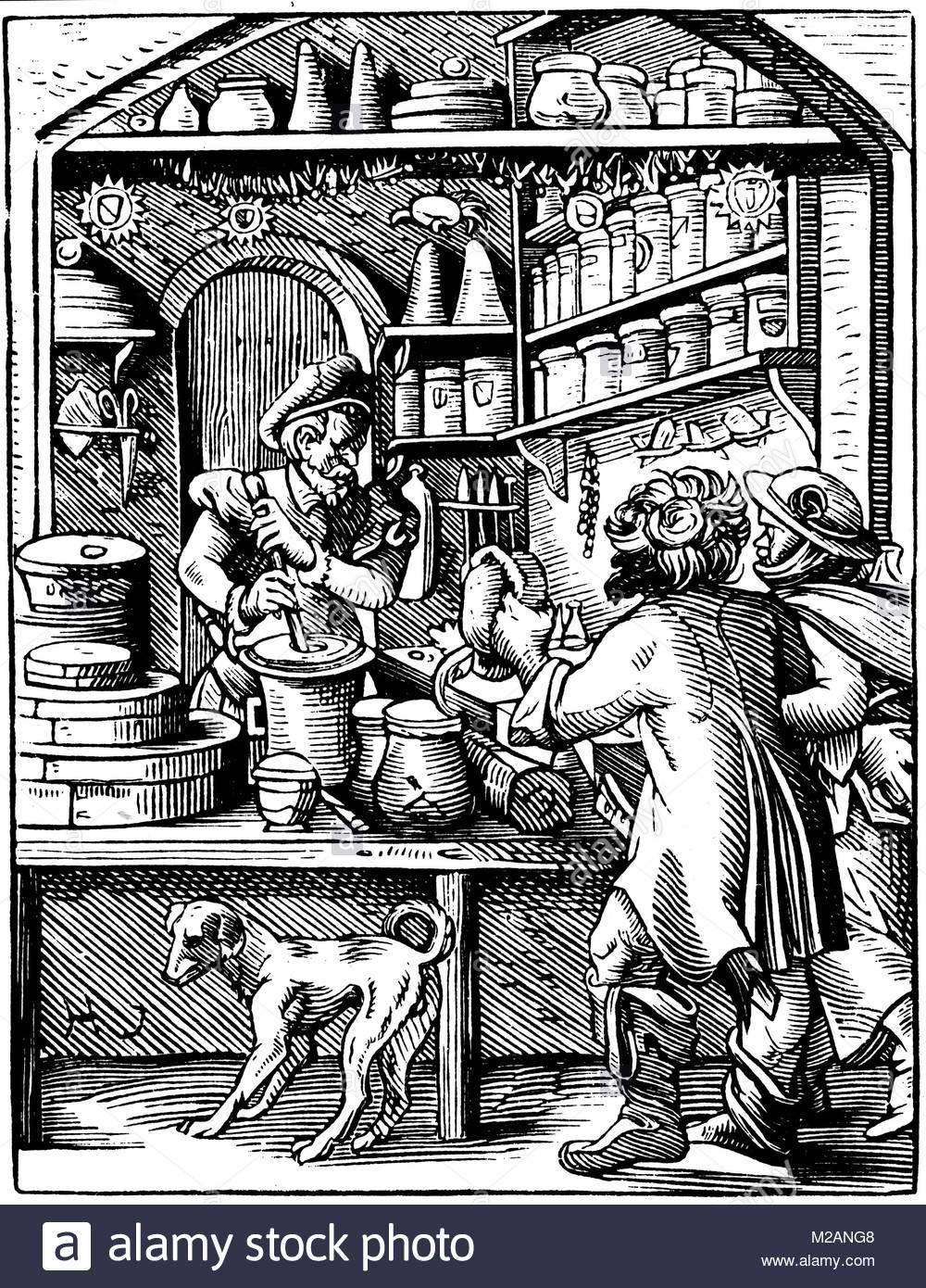 The Druggist - Stock Image