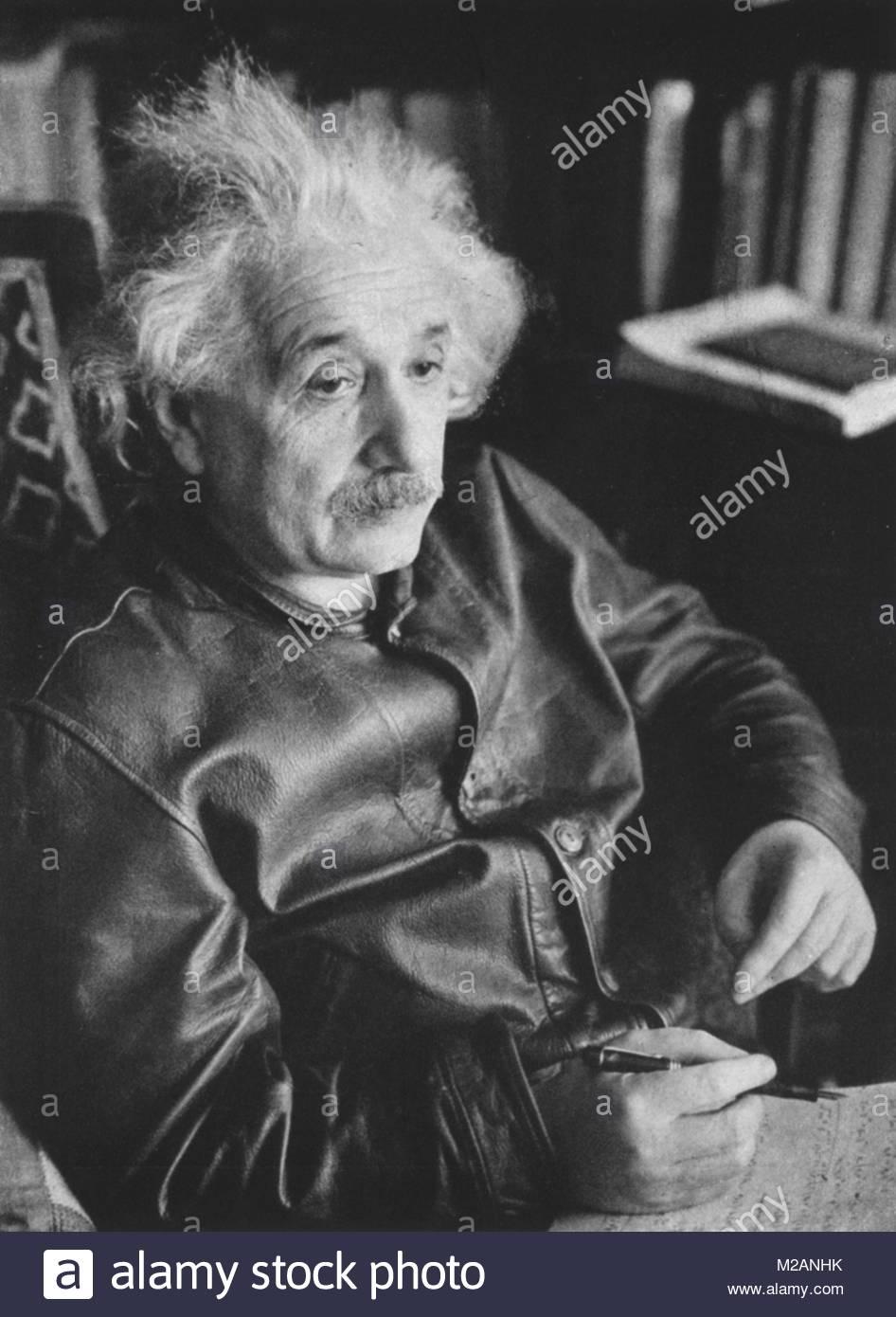 Albert Einstein - Stock Image