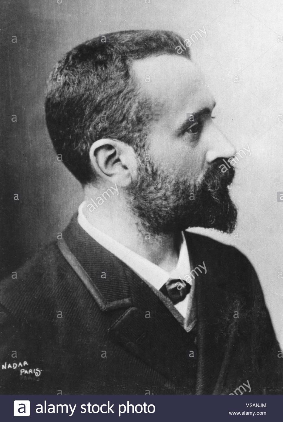 Alphonse Bertillon - Stock Image