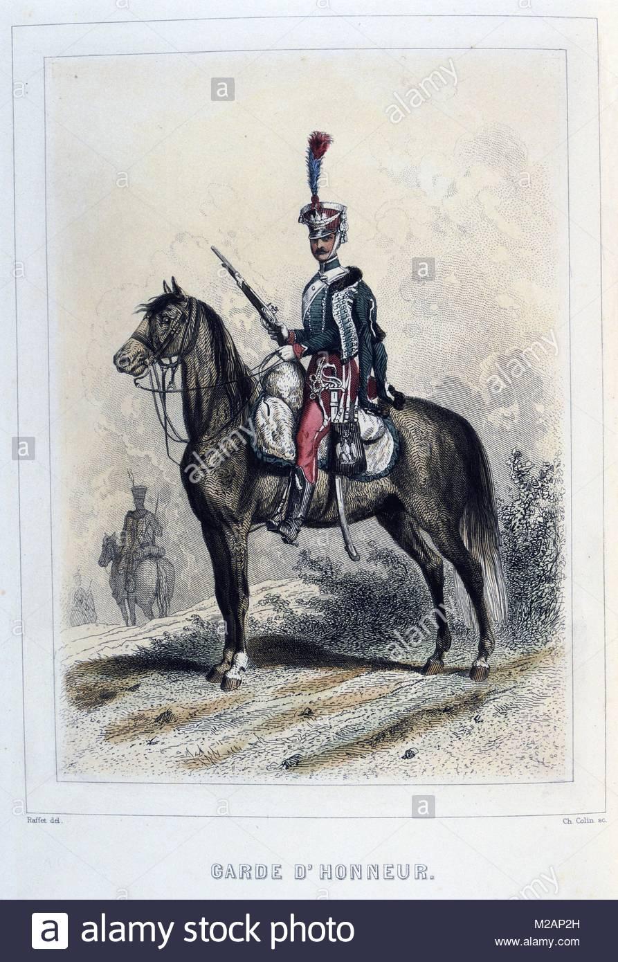 Guard of Honour - Stock Image