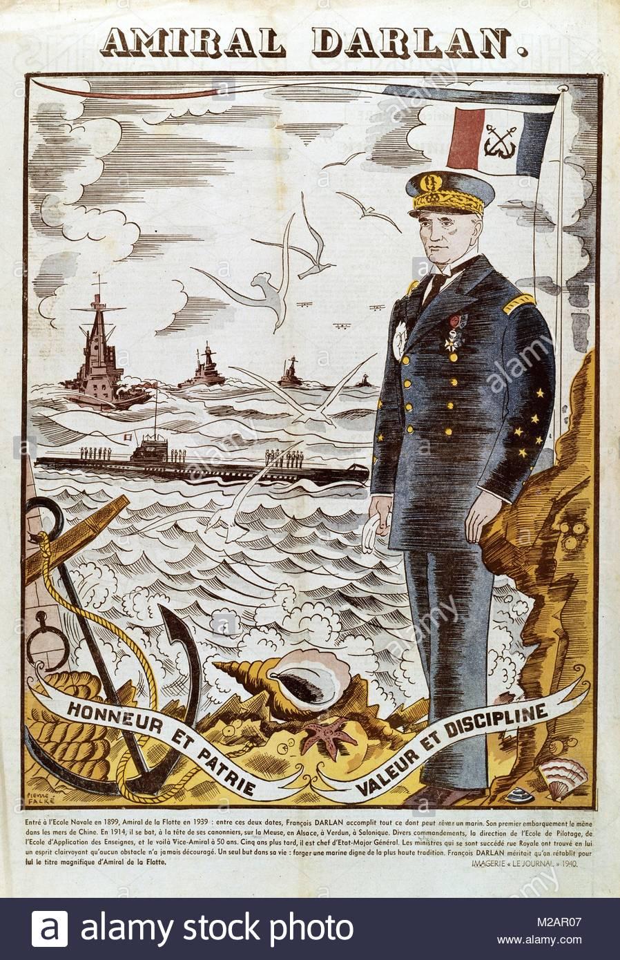 Admiral  Darlan' - Stock Image