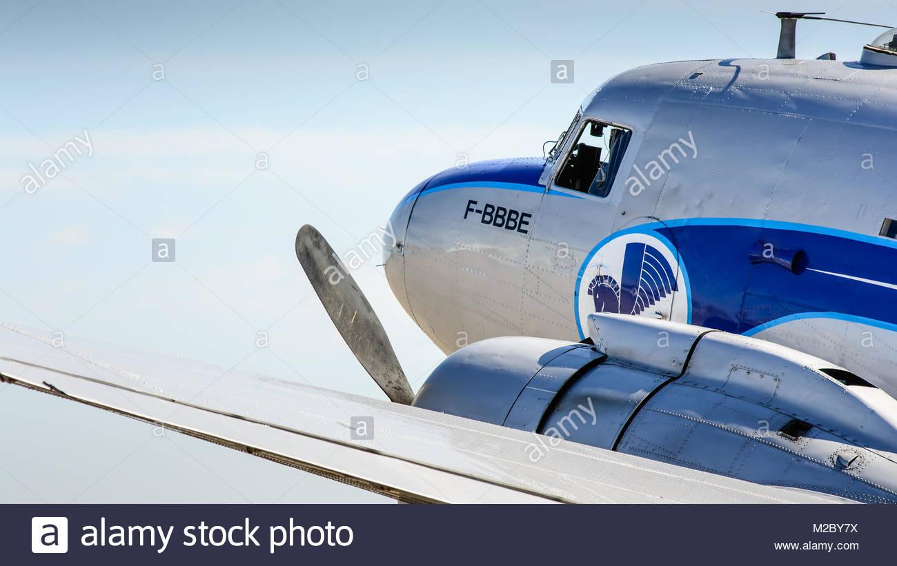 DC-3 - Stock Image