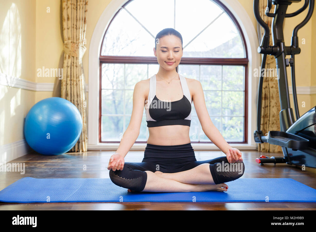Young women fitness - Stock Image