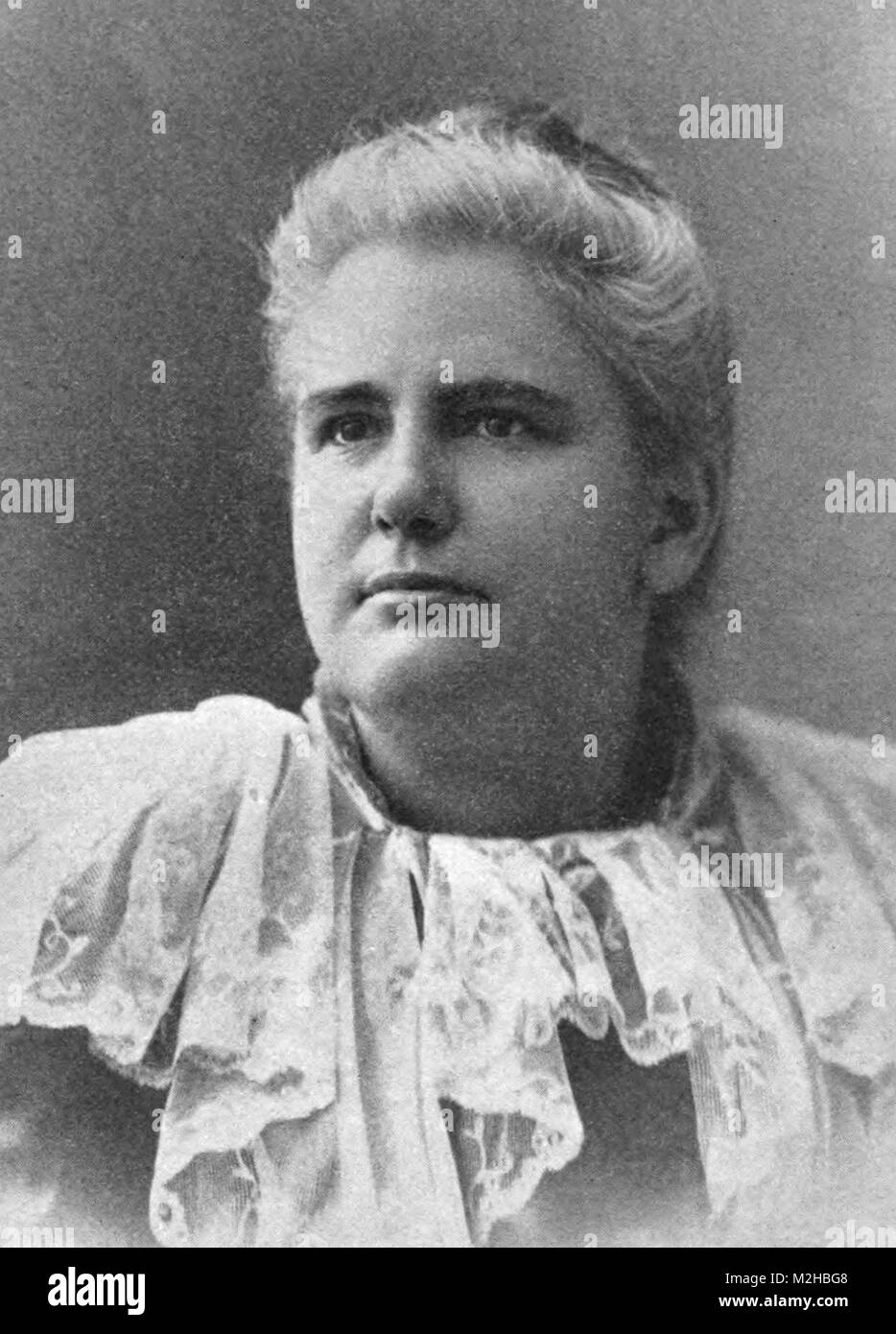 Anna Howard Shaw (1847 – 1919) leader of the women's suffrage movement in the United States - Stock Image