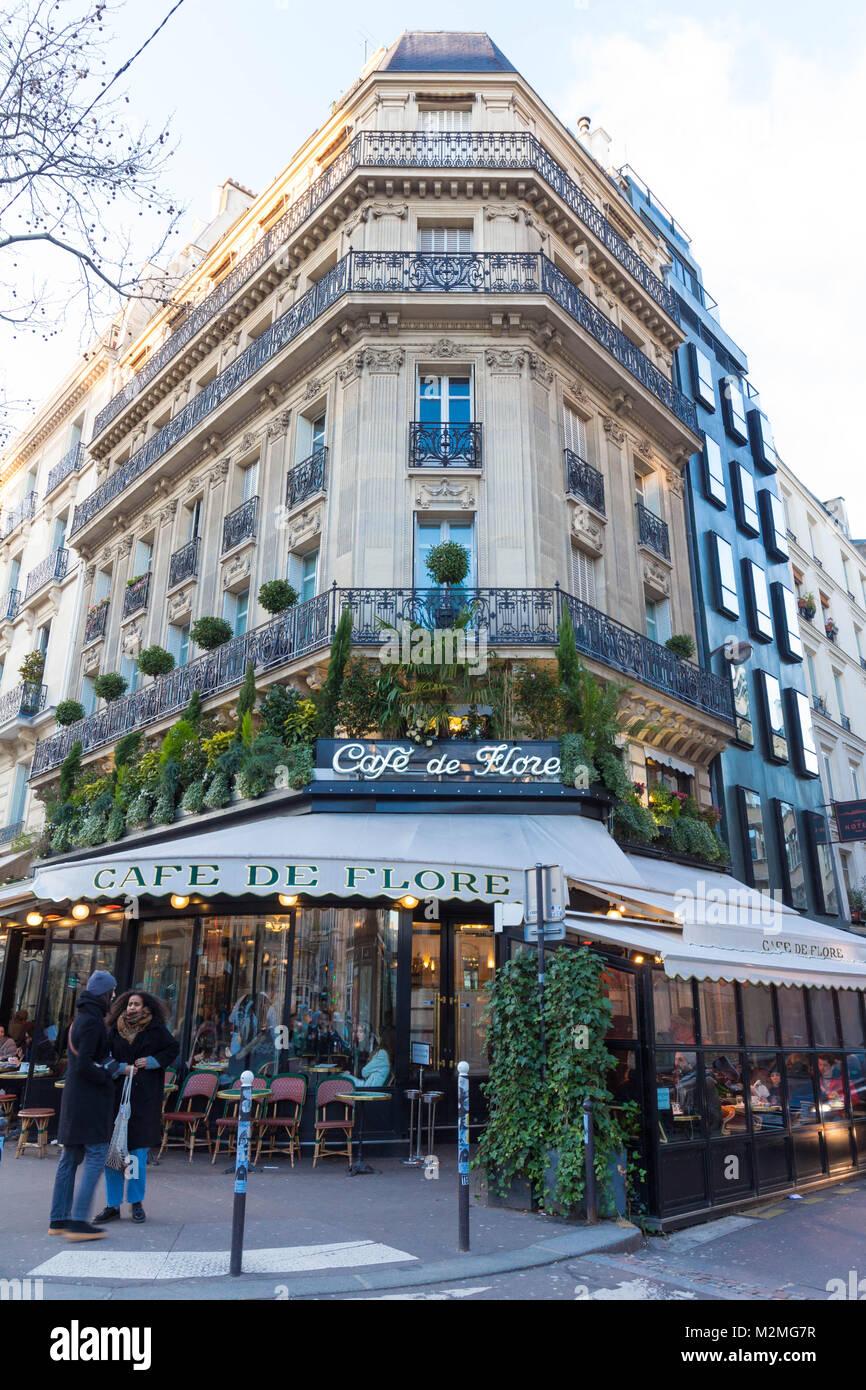 Cafe Del Flore Paris