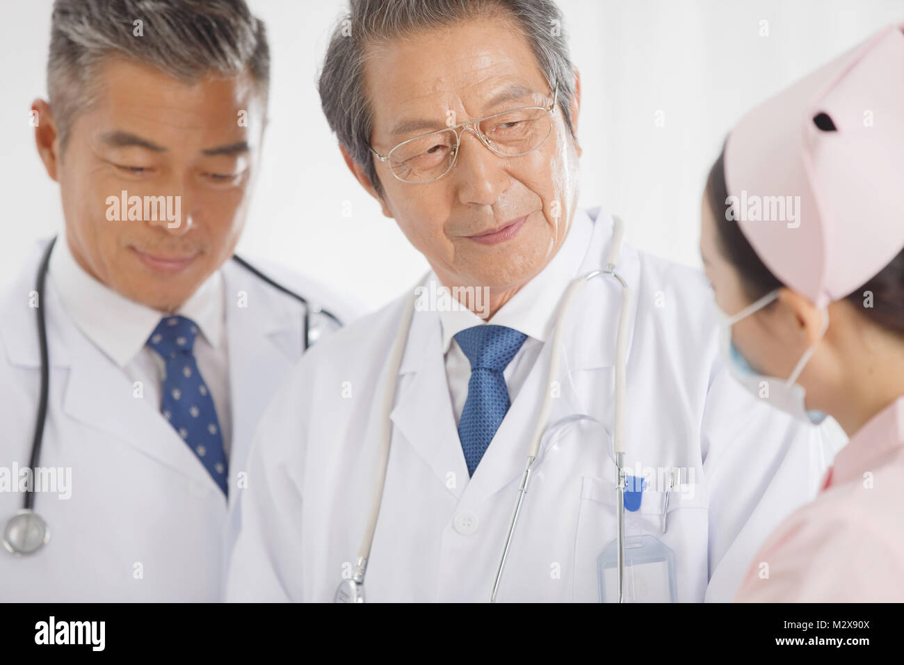 Medical workers - Stock Image